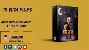 Afro Guitar  Melodies - MIDI PACK