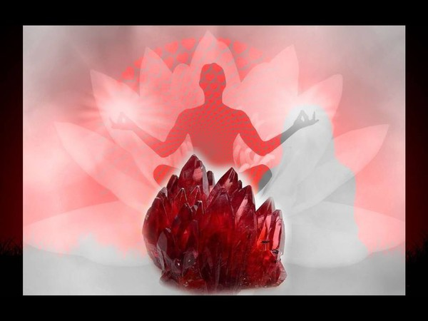 Ruby Crystal Vibrational Frequency