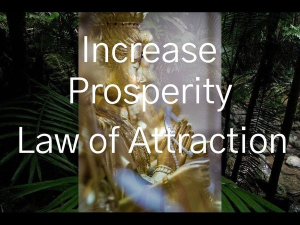 Increase Prosperity Law Of Increase