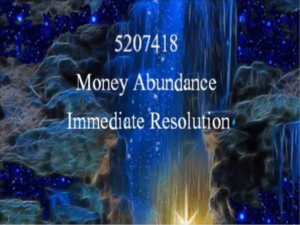 Bio Hack 5207418 Money Abundance Immediate Resolution