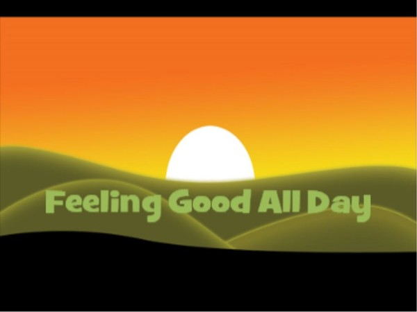 BE POSITIVE HAPPY ALL DAY MP3