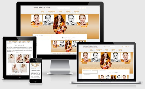 Sophie Turner WordPress Theme