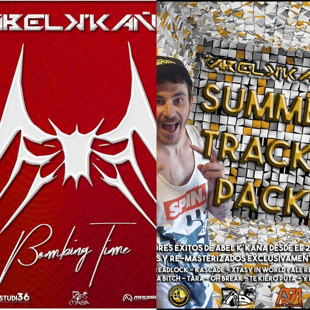 Pack 2 Recopilatorios Abel k´kaña ( Summer Tracks Pack+Bombing Time )