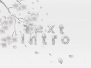 3D Text intro » Breeze