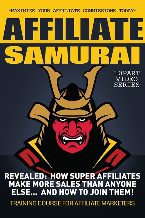 Affiliate Samurai - Maximize Your Commissions Today