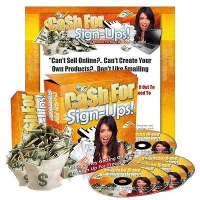 Cash For Sign-Ups with Resell Rights