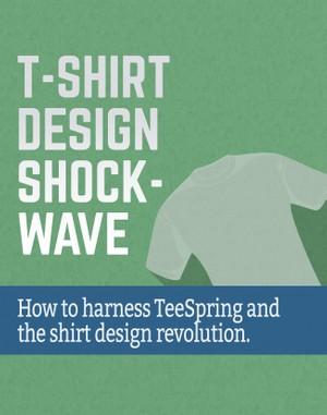 T-Shirt Design Shockwave