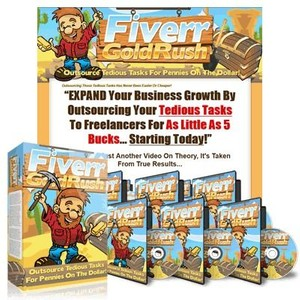 Fiverr Gold Rush with Resale Rights