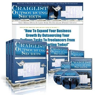 Craigslist Outsourcing Secrets with Resale Rights