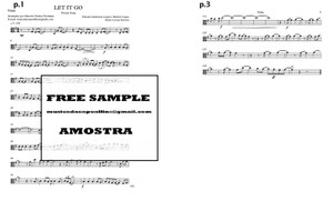 Let It Go - solo Viola Download (*with Playback) Frozen Song Sheet Music