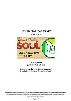 Seven Nation Army | Ben l'Oncle Soul | String Quartet | Download