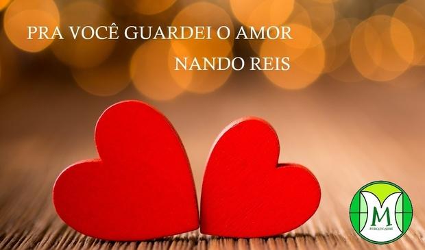 Pra Você Guardei o Amor - Nando Reis - Teclado ou Violino - Partitura