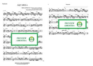 Aquarela - Toquinho - Teclado ou Violino Partitura com Cifra