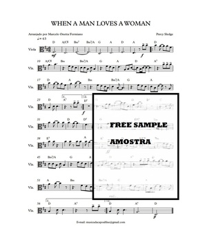 Viola - When a Man Loves a Woman - Sheet Music