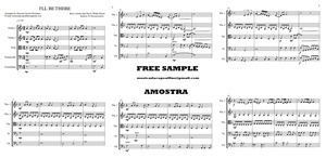 I'LL BE THERE Quinteto de Cordas - Score and parts - Download