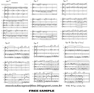 Titanium - David Guetta - String Quartet Sheet Music Download.pdf