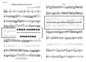 When I was Your Man - B. Mars - Keyboard Sheet Music with chords Download - Parts.pdf