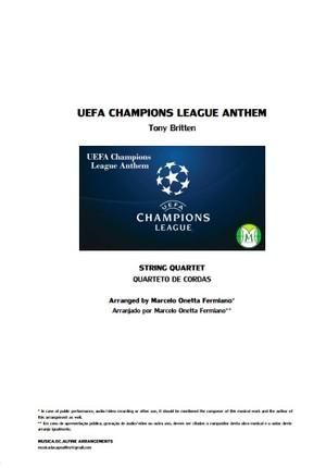 UEFA Champions League Anthem - String Quartet - Score and parts.pdf