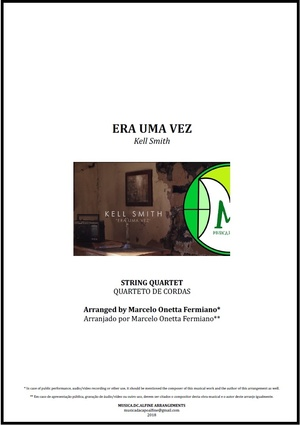 Era Uma Vez | Kell Smith | Quarteto de Cordas | Partitura Completa | Download