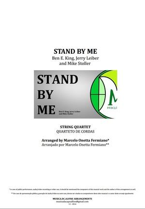 Stand By Me   Ben E. King   Quarteto de Cordas   Partitura Completa   Grade e Partes