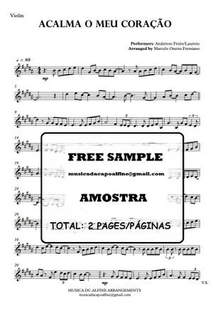 Acalma o Meu Coração - Violin - Partitura.pdf