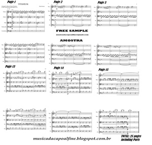 Titanium - David Guetta - String Quintet Sheet Music Download.pdf