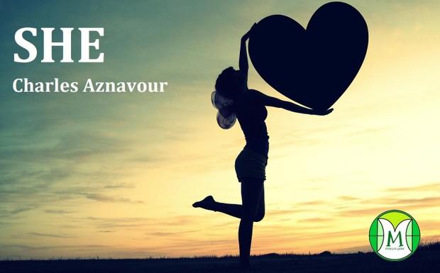 She - Charles Aznavour - Keyboard or Violin - Sheet Music