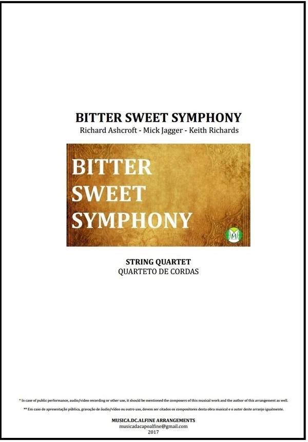 Bitter Sweet Symphony | The Verve | String Quartet | Score and Parts | Download