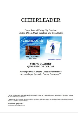 CHEERLEADER - OMI - String Quartet - Sheet Music - Score and parts.pdf