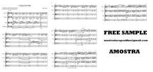 Casa Do Pai - String Quartet - Score and parts.pdf