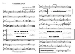 CHEERLEADER - OMI - Keyboard with chords PDF Sheet Music