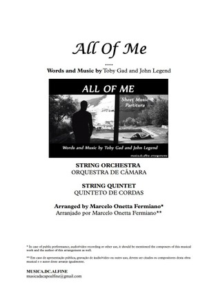 All of Me - String Orchestra - Score and parts - In A.pdf