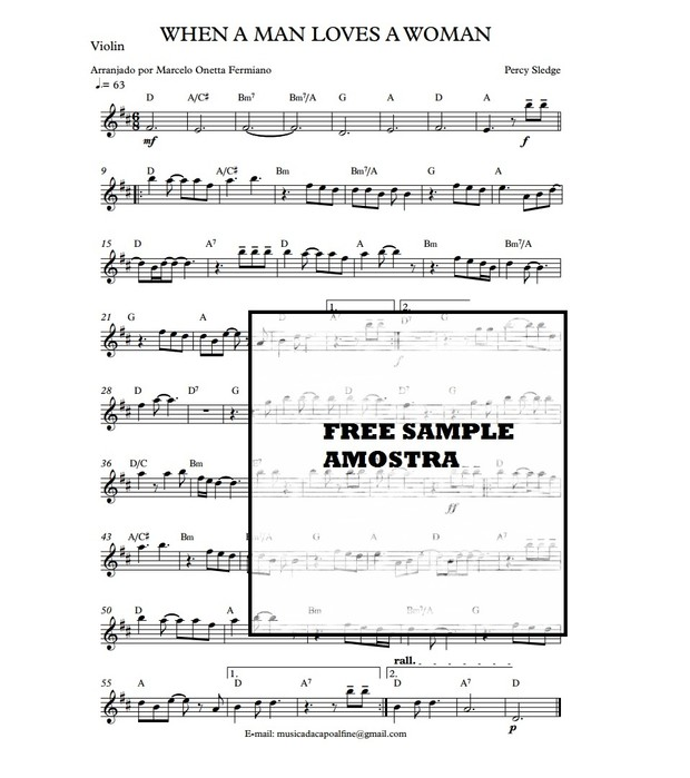 Violin WHEN A MAN LOVES A WOMAN - solo.pdf