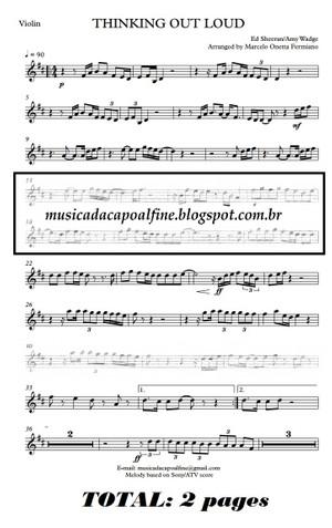 Thinking Out Loud - Violin - Parts sheet music download.pdf