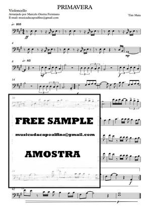 Primavera - Tim Maia Violoncelo - Partitura .pdf