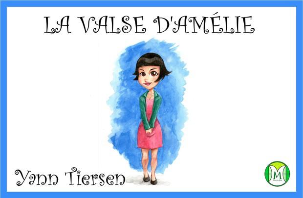 Valse d'Amélie - Yann Tiersen - Keyboard or Violin - Sheet Music