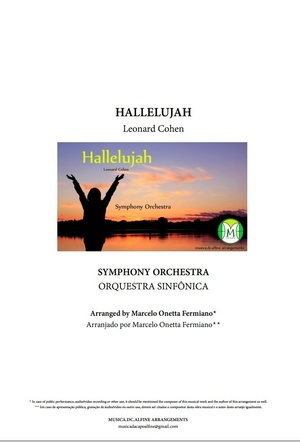 Hallelujah - Leonard Cohen - Symphony Orchestra - Score and parts.pdf