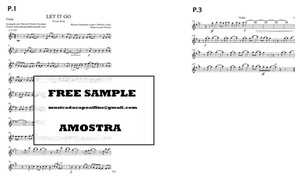 Let It Go - Solo Violino  Download (*with Playback) Sheet Music