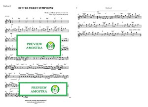 Bitter Sweet Symphony - The Verve - Keyboard or Violin - Sheet Music