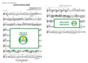 Seven Nation Army | Ben l'Oncle Soul | Keyboard or Violin | Download