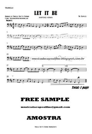 Let it Be - Violoncello solo- Sheet Music Download.pdf