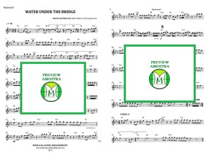 Water Under the Bridge - Adele - Keyboard or Violin - Sheet music