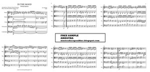 In the Mood - String Quintet - Score and parts Sheet Music