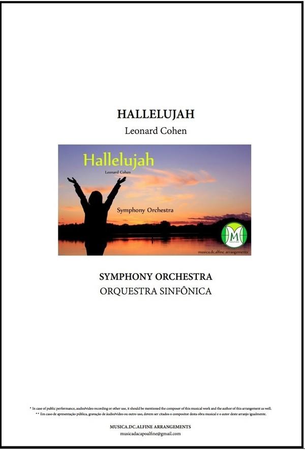 Hallelujah | Leonard Cohen | Orquestra Sinfônica | Grade e Partes | Download
