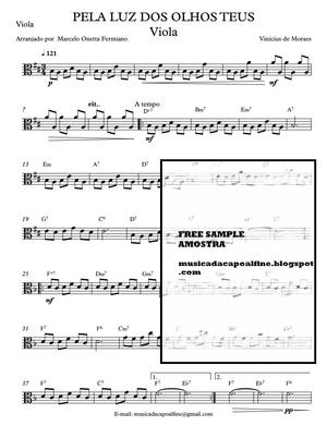 PELA LUZ DOS OLHOS TEUS - Viola solo.pdf