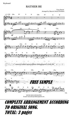 RATHER BE - KeyBoard - Sheet music download - Parts.pdf