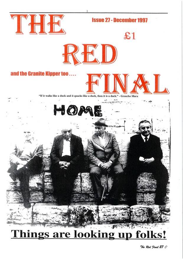 The Red Final, Issue 27