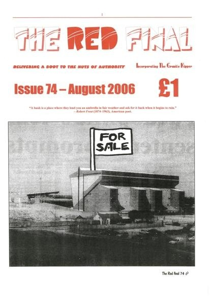 The Red Final, Issue 74