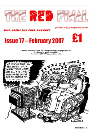 The Red Final, Issue 77