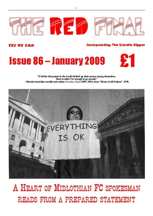 The Red Final, Issue 86